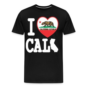 I Heart Cali MAP - Men's Premium T-Shirt