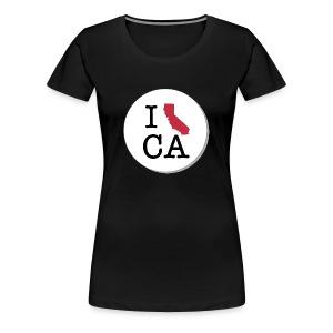 California MAP - Women's Premium T-Shirt