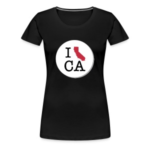 California MAP - Women's Premium T-Shirt