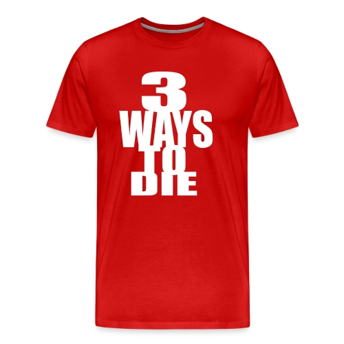 Takeover - 3Ways RED - Men's Premium T-Shirt
