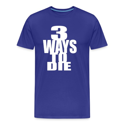 Takeover - 3Ways BLue - Men's Premium T-Shirt
