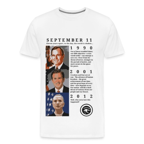 September 11, 1990-2012 - Men's Premium T-Shirt