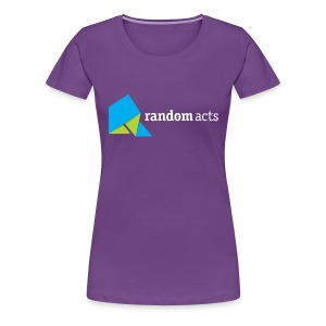 RA Women's Plus Size T-Shirt (light logo) - Women's Premium T-Shirt