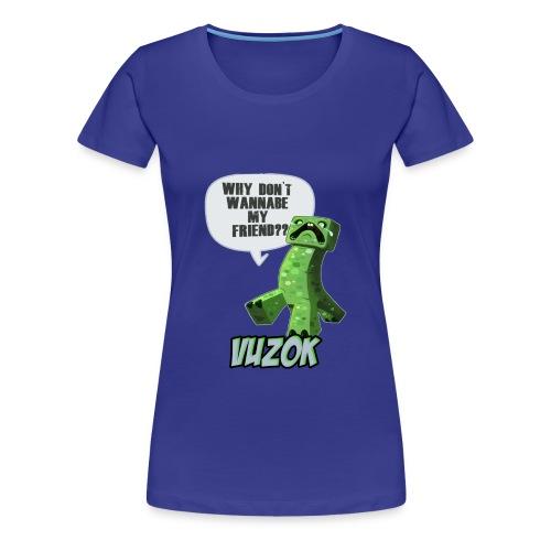 Womens Friendly Creeper Tee! - Women's Premium T-Shirt