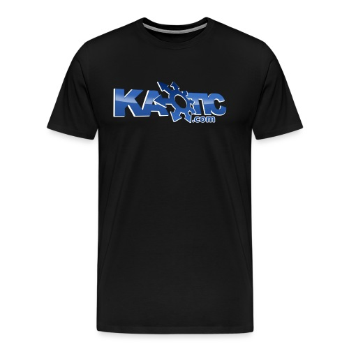 Kaotic Mens Black Heavyweight Tee - Men's Premium T-Shirt