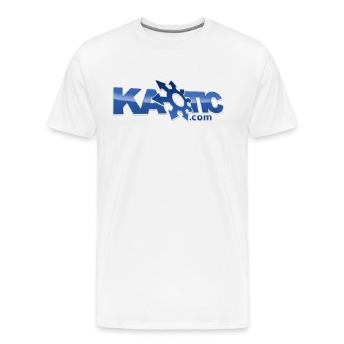 Kaotic Mens White Heavyweight Tee - Men's Premium T-Shirt