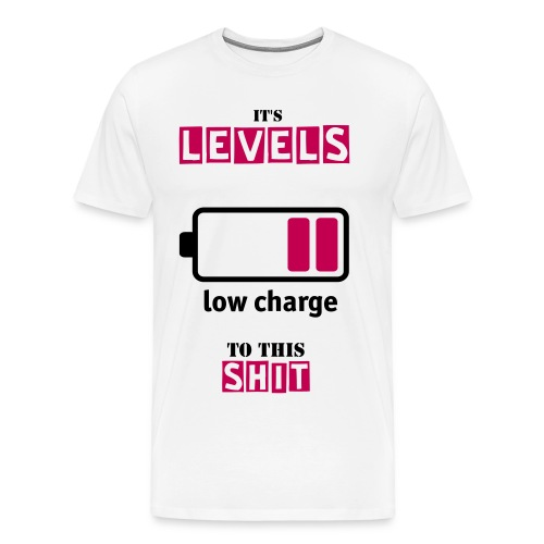 Levels to this S*** - Men's Premium T-Shirt