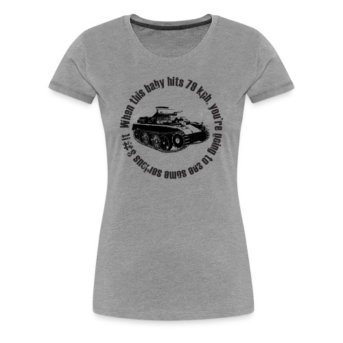 Some Serious S#it (Women) - Women's Premium T-Shirt