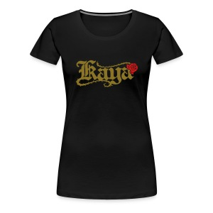 [W] Fitted Kaya Rose - Women's Premium T-Shirt