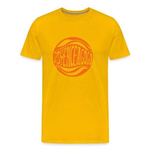 [M] Orange hide A Go Go - Men's Premium T-Shirt