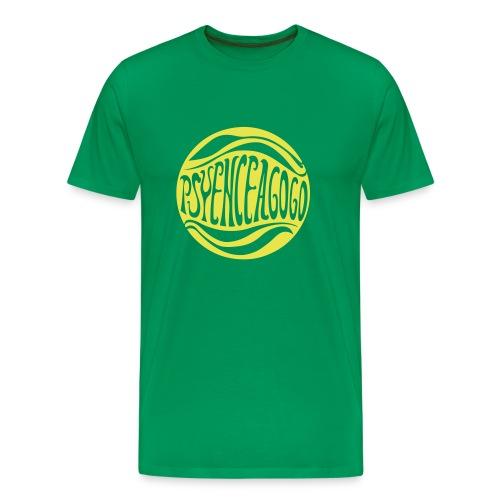 [M] Yellow hide A Go Go - Men's Premium T-Shirt