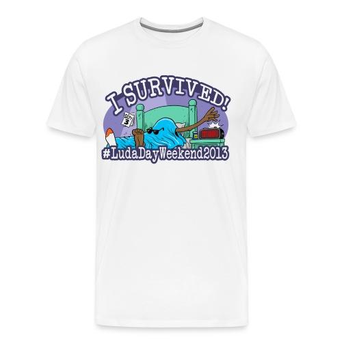 I Survived #LudaDayWeekend - Men's Premium T-Shirt