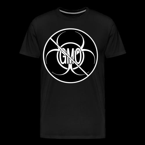 No GMO Shirts Plus Size NO GMO Bio-hazard Mens' Shirts - Men's Premium T-Shirt