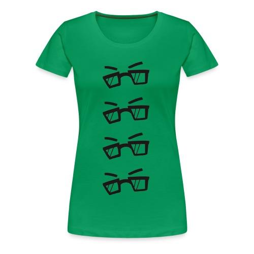 Larry Repeat (Womens) - Women's Premium T-Shirt