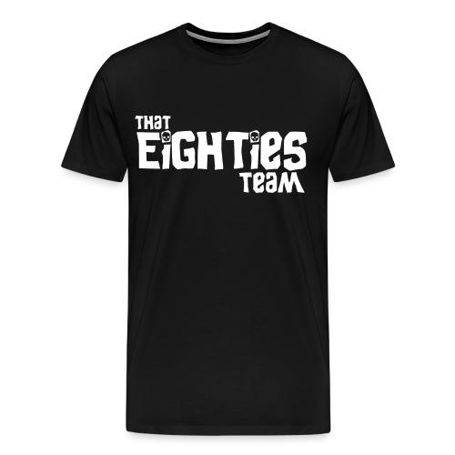80s Team Treasure Tee 3XL & 4XL - Men's Premium T-Shirt