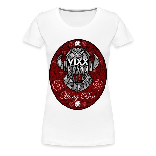 VIXX Stained Glass- Hong Bin - Women's Premium T-Shirt
