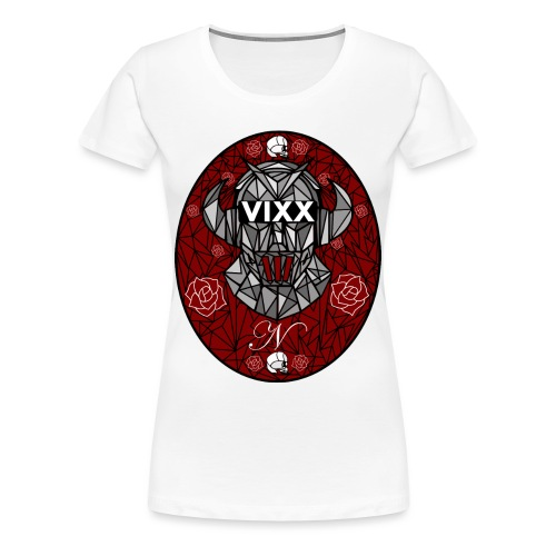VIXX Stained Glass- N - Women's Premium T-Shirt