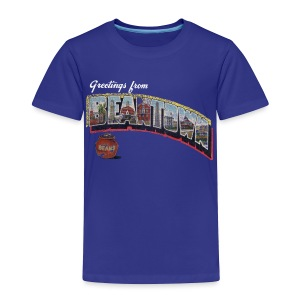 Vintage Greetings Boston - Toddler Premium T-Shirt