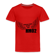 Baby & Toddler Shirts ~ Toddler Premium T-Shirt ~ Spread your wings and HM02