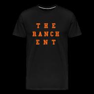 T-Shirts ~ Men's Premium T-Shirt ~ Original Men's T 3 Orange on Black