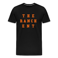 T-Shirts ~ Men's Premium T-Shirt ~ Original Men's T 3 Orange on Black