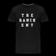 T-Shirts ~ Men's Premium T-Shirt ~ Original Men's T 3 White on Black