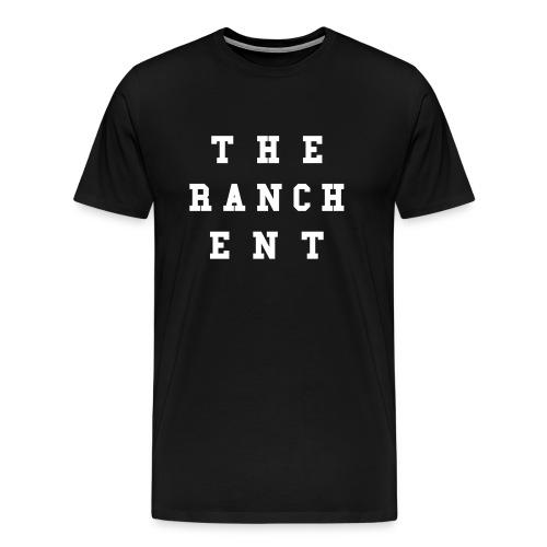 Original Men's T 3 White on Black - Men's Premium T-Shirt