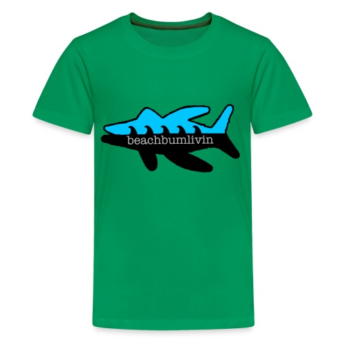 Fish_Logo_tshirt_final_outline.png - Kids' Premium T-Shirt