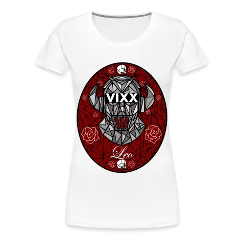 VIXX Stained Glass- Leo - Women's Premium T-Shirt
