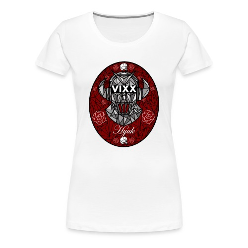 VIXX Stained Glass- Hyuk - Women's Premium T-Shirt