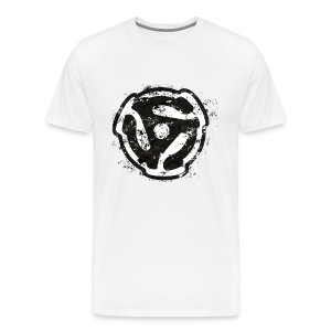 45 R.P.M. T-Shirt (Men/White) - Men's Premium T-Shirt