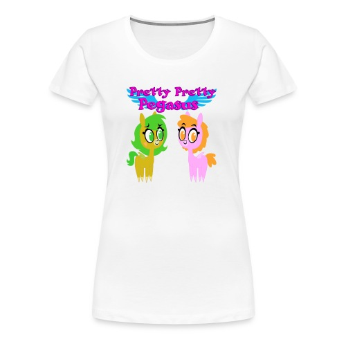 Pretty Pretty Pegasus - Women's Premium T-Shirt