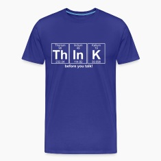 Th-In-K (think) - Full T-Shirts
