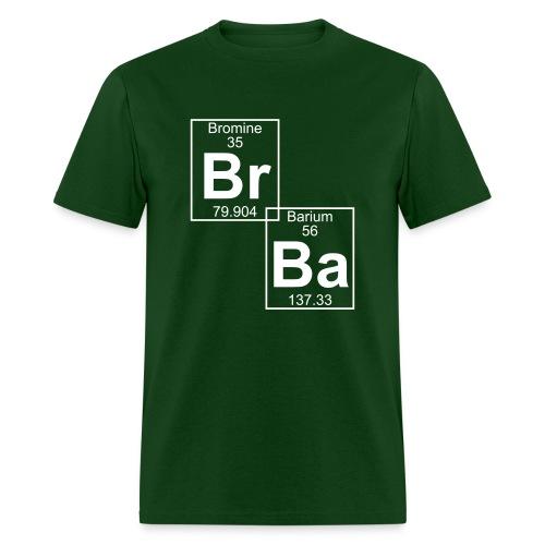 Bromine and Barium - Men's T-Shirt