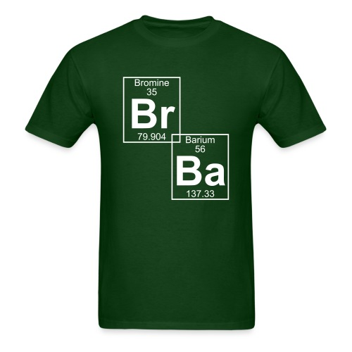 Bromine and Barium - Men's T-Shirt