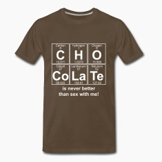 C-H-O-Co-La-Te (chocolate) - Full T-Shirts