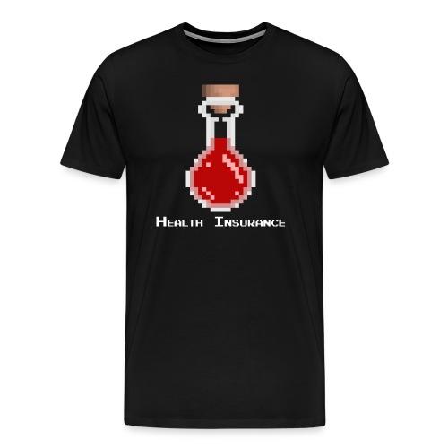 Health Insurance (potion)  - Men's Premium T-Shirt