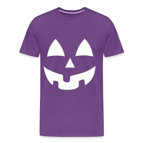 Purple Pumpkin  - Men's Premium T-Shirt