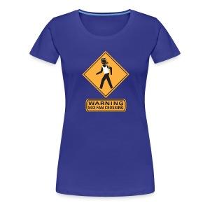 Sox Fan Crossing - Women's Premium T-Shirt