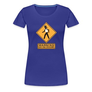 Sox Fan Crossing - Women's Premium T-Shirt