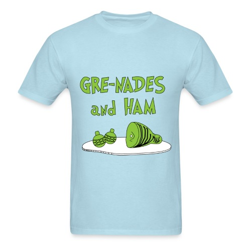 Gre-Nades and HAM T-Shirt - Men's T-Shirt