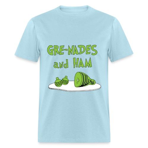 Gre-Nades and HAM T-Shirt - Men's T-Shirt
