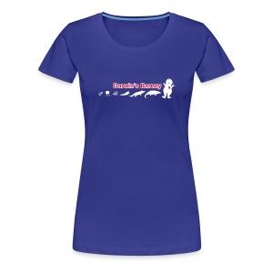 Darwin's Barney - Women's Premium T-Shirt