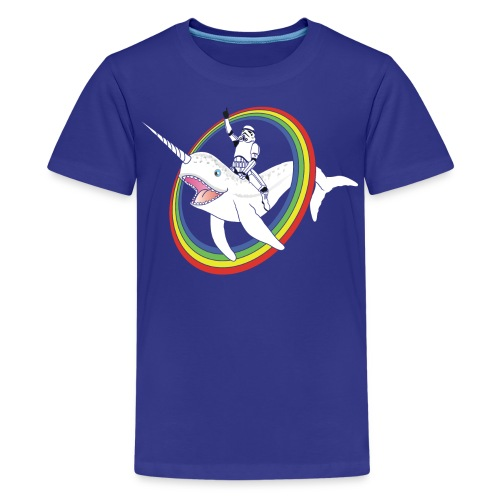 Narwhal Rainbow Stormtrooper - Kids' Premium T-Shirt