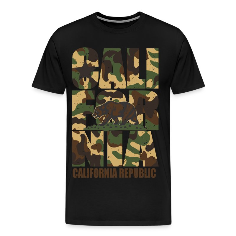 Cali for nia Tee - Men's Premium T-Shirt