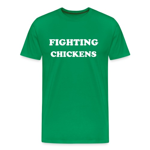 Fighting Chickens - Men's Premium T-Shirt