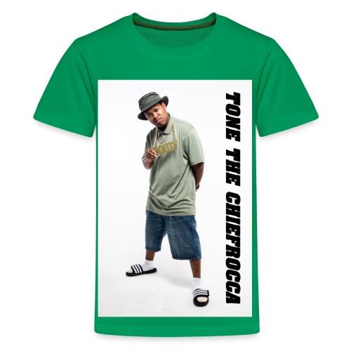 Children - Tone The Chiefrocca T-shirt - Kids' Premium T-Shirt