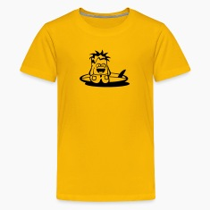 Vektorschmiede Doodles: Bernd the Boarder Kids' Shirts