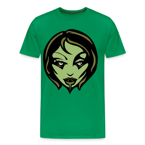 Zombie Girl Halloween T-shirt 4xl Plus Size Shirts - Men's Premium T-Shirt