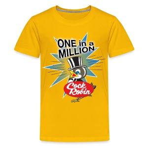 Cock Robin One in a Million! Kid's tee - Kids' Premium T-Shirt